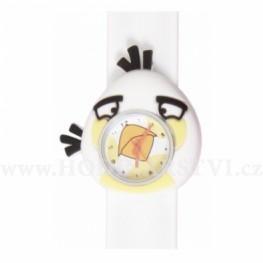 Hodinky Silic samonavíjecí Slap - dětské hodinky bílé