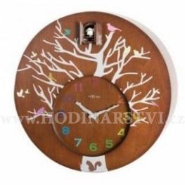 Hodiny NEXTIME 2998br Nextime Cuckoo Round Brown 30cm